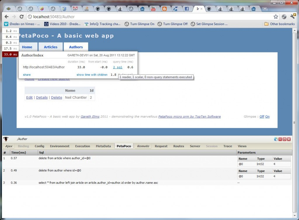 petapoco one to many relationship database